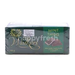 Walkers Mint Thins Chocolates
