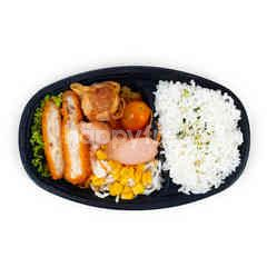 Aeon Set Katsu Ayam dan Sosis