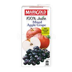 Marigold 100% Mixed Apple Grape Juice
