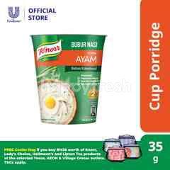 Knorr Instant Porridge Chicken Cup 35g
