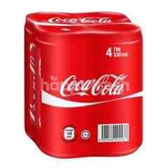 Coca-Cola Carbonated Drink (4 Pieces)