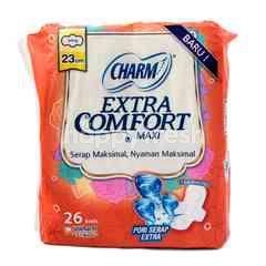 Charm Extra Comfort Maxi Wing Sanitary Pad