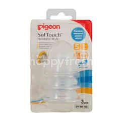 Pigeon SofTouch Peristaltic Plus Nipple S