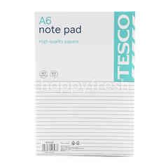 Tesco A6 Note Pad