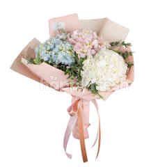 Heartis Bouquet Of Pastel Hydrangea
