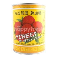 Lamthong Lychees in Heavy Syrup