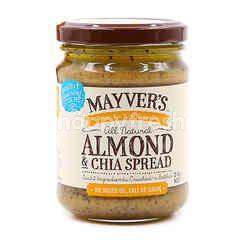 Mayvers Almond & Chia Spread