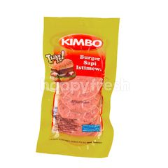Kimbo Kitchen Special Beef Burger