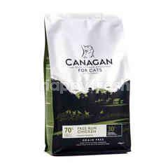 คานาแกน อาหารเม็ดสำหรับแมว สูตรฟรี-รัน ชิคเก้น 1.5 กก.