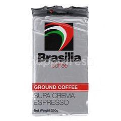 Brasilia Ground Coffee Supa Crema Espresso