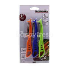Fackelmann Peeler Set (3 Pieces)