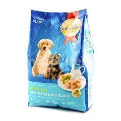 Smartheart Makanan Anak Anjing Rasa Ayam Telur dan Susu