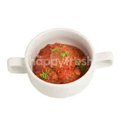 Stewed Meatballs In Tomato Sauce