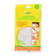 Giant Polyethylene Disposable Gloves (30 Pieces)