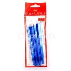 Faber-Castell Click X5 Blue Pen 0.5Mm
