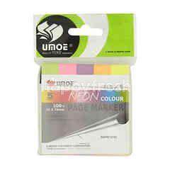 Umoe Neon Colour Page Marker (5 Colours)