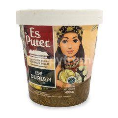 Diamond Es Puter Durian Ice Cream