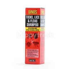 DINO TICKS Lice & Fleas Shampoo