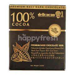 Delicacao Cokelat Hitam 100% Kakao