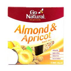 Go Natural Almond & Apricot Snack Bars