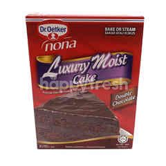 Dr.Oetker Nona Luxury Moist Cake - Double Chocolate