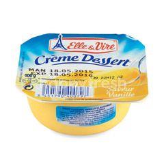 Elle & Vire Crème Dessert Vanilla Pudding