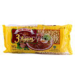 Indofood Mi Telur Cap 3 Ayam Kuning
