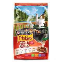 Friskies Makanan Kucing Meaty Grills 1.2kg
