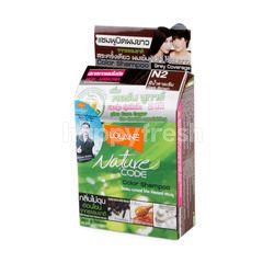 Lolane Nature Code Dark Brown Hair Colour Shampoo
