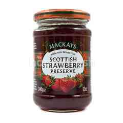 Mackays Scottish Strawberry Preserve