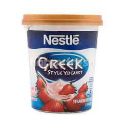 Nestlé Strawberry Field Greek Style Low Fat & Creamy Yogurt