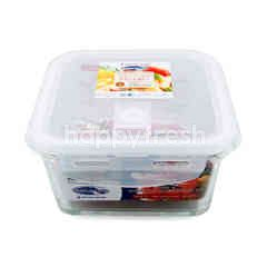 Super Lock Food Container Glass 900 ml