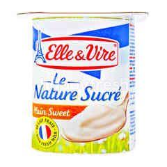 Elle & Vire Le Nature Sucre Plain Sweet Yogurt