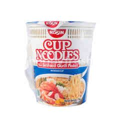 Nissin Cup Noodles with Spicy Seafood Flavor