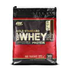 Optimum Nutrition Whey Gold Standard Cokelat (10 lb)