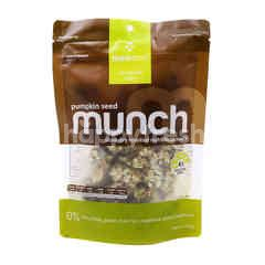 Think Food Pumpkin Seed Munch Slow Dry Roasted Nutritious Snack