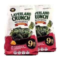 Manjun Laverland Crunch Habanero Flavor Seaweed Twinpack