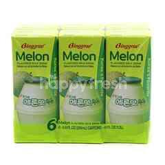 Binggrae Melon Flavoured Milk Drink (6 Bottle)