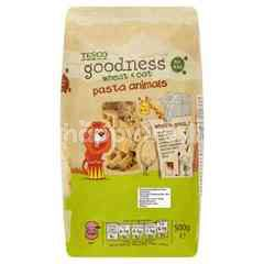 Tesco Goodness Wheat & Oat Pasta Animals