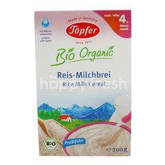 Topfer Sereal Beras Susu Bio Organik untuk Bayi 4+