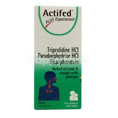 Actifed Cough Syrup Plus Expectorant