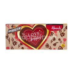 Van Houten Cokelat Susu Almond Panggang Utuh - Edisi Natal