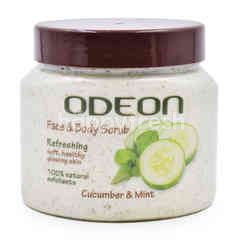 Odeon Papaya & Cucumber Face & Body Scrub