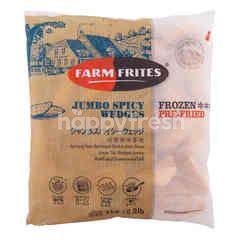 Farmfrites Jumbo Spicy Wedges