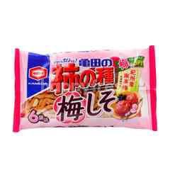 Kameda Kakino Tane Ume Shiso Rice Cracker