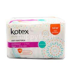 Kotex Kotex Natural Care Overnight Wing Pad