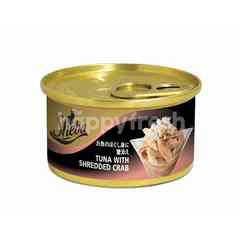 Sheba Can Cat Wet Food Adult Tuna with Shredded Crab 85G Cat Food