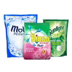 Unilever Rinso, Molto, Sunlight Ultimate Cleaning Kit 2