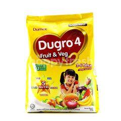 Dumex Dugro Formulated Fruit & Veg Milk Powder (3-6 Years)