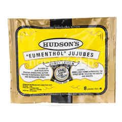 Hudson's Eumenthol Jujubes Honey Lemon